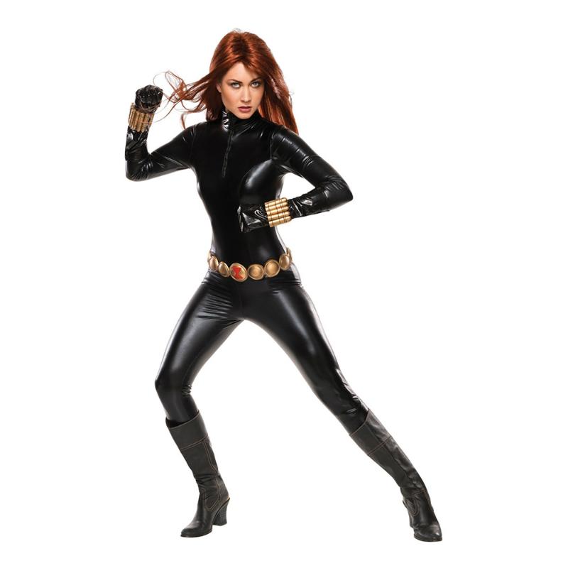 Black Widow Maskeraddräkt Avengers Maskerad Filmtema