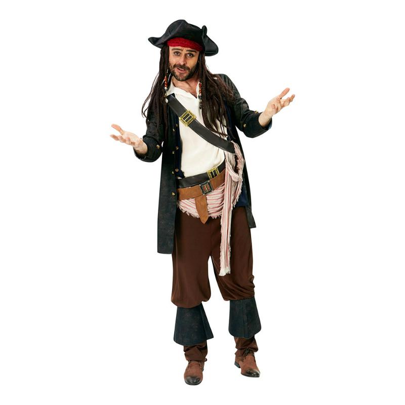 piratkapten jack sparrow maskerad filmtema